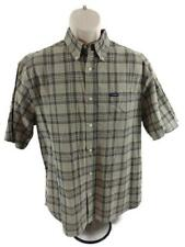 MSS010 Men's Short Sleeve Button Up Shirt - Used - Size Large