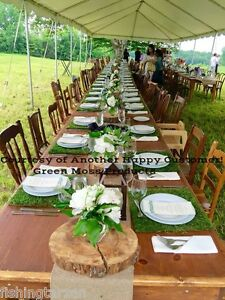 """10 SHEET MOSS PLACEMATS 14""""X14"""" plate chargers table decorations table settings"""