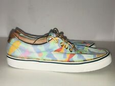 BASS Multi-Colored Youth Fabric Boat Shoes (SIZE 5M)