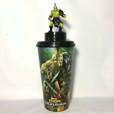 Marvel THOR Ragnarok Movie 2017 Cinemas Theatres Hulk Figurine Cup Topper Model