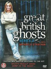 GREAT BRITISH GHOSTS SERIES 2 WITH MICHAELA STRACHAN - 6 DVD BOX SET