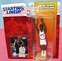1994 DOMINIQUE WILKINS sole Los Angeles Clippers - FREE s/h- Starting Lineup HOF