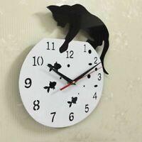 Acrylic Quartz Mirror Wall Clock Diy Modern Watch Clocks Living Room 3d Stickers