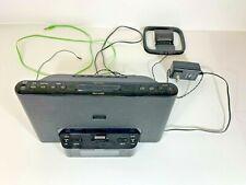 Sony ICF-CS15iP Audio Dock with Clock and Radio for iPhone/iPod - Black