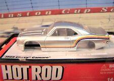 New Hot Rod silver 1969 Chevy Camaro Body Ho slot car Xtraction Auto World Tomy