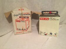 Chad Vallet Mary Lou Electric Vintage Metal Toy Washing Machine With Box