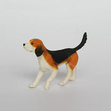 1/12 Scale Miniature American Foxhound Dog Collectible Doggy Puppy Figurine Toy