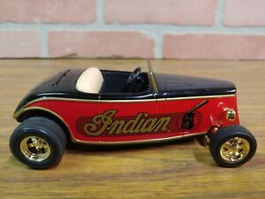 "1934 Ford Roadster Street Rod (1:25) RARE ""Indian"" Diecast Bank, by SpecCast"