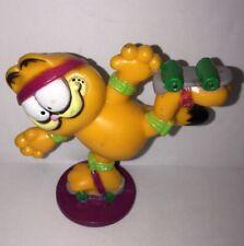 1981 Garfield Roller Skating Action Figure Nice Vintage