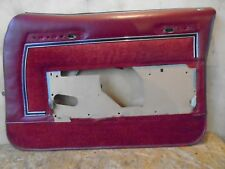 1979 Buick ELECTRA interior DOOR PANEL 79 4 dr.sedan Right Front  77 78 1977 ?