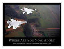 "ISRAELI AIR FORCE FLY OVER AUSCHWITZ CONCENTRATION CAMP 18x24"" POSTER GIFT"