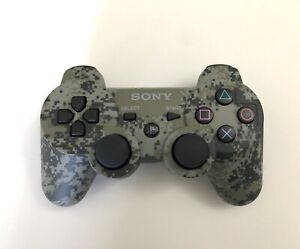 Sony PS3 Sixaxis DualShock 3 Wireless Controller - Urban Camo - Tested & Working