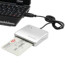 Easy Comm USB Powered Plug Smart Card Reader IC/ID card Reader