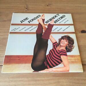 "JANE FONDA - JANE FONDA'S WORKOUT RECORD (1981 DOUBLE 12"" VINYL ALBUM) CBS 88581"