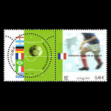 "France 2002 - Football World Cup ""South Korea and Japan"" Soccer - Sc 2891 MNH"