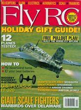 2004 Fly RC Magazine: O.S. Pegasus FF-320/Giant Scale Planes/Raptor 30 Heli