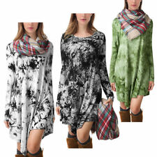 Regular Rayon Shirt Dresses for Women