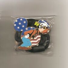 Disney Cast Member Exclusive - Patriotic Goofy ID Lanyard