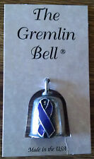 Cancer Awareness Motorcycle Guardian Angel Harley Good Luck Gremlin Bell USA