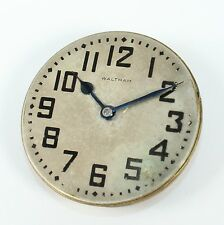 WALTHAM 18s 17 JEWEL OPEN FACE POCKET WATCH MOVEMENT-PARTS/REPAIR-DH276