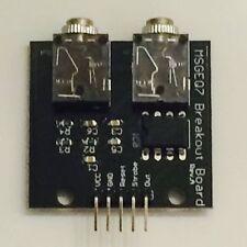 MSGEQ7 7-Band Audio Equalizer Breakout Board 90Deg Header(Arduino,Raspberry Pi)