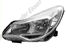 Opel Corsa D  ab 2011 bis 2014 Scheinwerfer links silber  H7  H1 mit Stellmotor