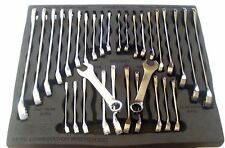 32pc IRONTON COMBINATION AND STUBBY WRENCH SET SAE & METRIC 53873