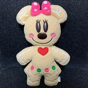 RARE Tokyo Disney Resort TDR Christmas 2009 Gingerbread Plush Minnie 11'' CUTE