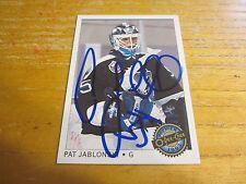 Pat Jablonski Autographed Signed 1992-93 OPC Premier #95 Card NHL Lightning