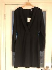 Ladies Clothes Size 12 Missguided Black Party Dress New (127)