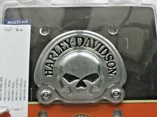 Harley Davidson Skull Medallion Emblem Sissybar Batterie Koffer chrom 91718-02