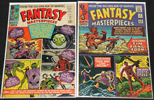 Marvel Silver FANTASY MASTERPIECES #1-4 - 4pc Mid Grade Comic Lot Kirby Ayers