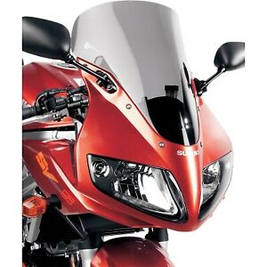 Zero Gravity - 23-157-02 - Sport Touring Windscreen, Light Smoke Suzuki SV 1000