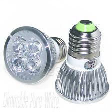 2PCS E26/E27 12W Dimmable Pure Solar White Light LED Spotlight Bulb Lamp Par16