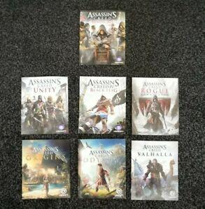 [Manuals] 7 PS4 Assassin's Creed Manuals [Odyssey, Rogue, Valhalla, Origins etc]