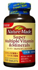 Nature Made Super Multi Vitamin & Mineral Supplement 120 Tablets Health Japan