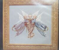 Cross Stitch Angel Chart Heavenly Gifts Lavender Lace