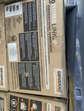 Generac GOO6852130-Amp HomeLink Upgradeable Pre-Wired Manual Transfer Switch New
