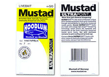 9 Mustad Hoodlum 10827NPBLN 9/0 Assist Jigging Live Bait hook