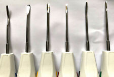 Dental Tooth Luxator Root Extraction Surgical Dentist Elevators 8 Pieces CE