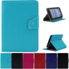 For Samsung Galaxy Tab 2/3/4/ 7 10 In Universal Leather Tablet Stand Case Cover
