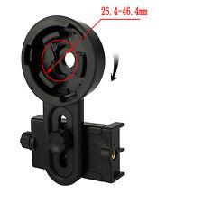 Universale fotocamera del cellulare adattatore Telescope Interface Staffa Nero