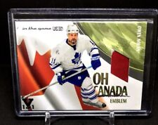 Owen Nolan  2015-16 Leaf Vault In The Game Canada Patch SP 1/1 Maple Leafs RW