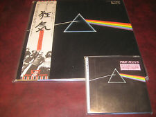 PINK FLOYD DARK SIDE OF THE MOON JAPAN EMS 80324 MINT LP + JAPAN REPLICA OBI CD