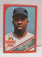 1990 Wonder Stars Kirby Puckett Minnesota Twins MLBPA Baseball Card