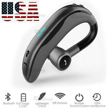 Bluetooth Headset Handsfree Wireless Earpiece for Samsung Galaxy S10 S20 A10 A20