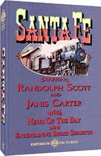 Santa Fe - A Classic RR Western Adventure W/FREE SHIPPING!