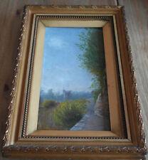 Antico origenal LAND SCAPE dipinto ad olio