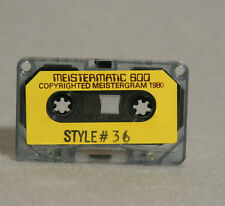 Meistergram Alphabet Fonts Software Cassette Tape Buyers Choice
