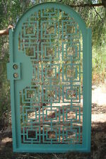 Contemporary Metal Gate Iron Steel Ornamental Garden Art Entry USA urban design